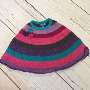 The Children Place Strip Poncho Size 4T